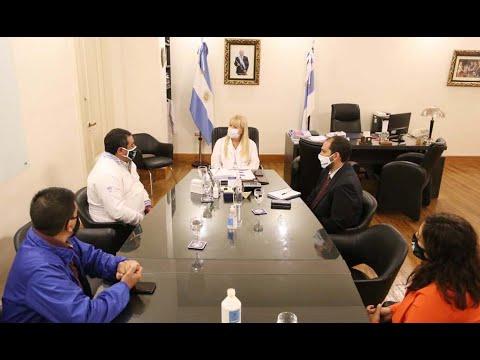 La ministra de Salud se reunió con autoridades del sindicato de Camioneros de Tucumán