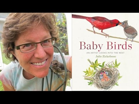Julie Zickefoose: The Bird Artist Who Paints & Cares for Baby Birds Like a Mother