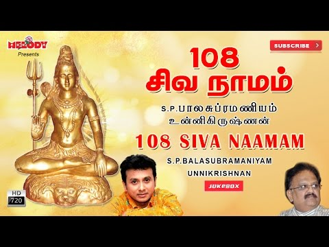108 Siva Naamam | Sivan Songs | S.Pbramaniam | Shivarathri Songs | Tamil God Songs