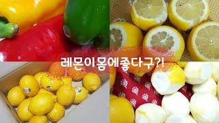 [일일일즙]레몬즙이렇게 먹어요 혈관청소