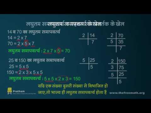 Fun With HCF And LCM (Hindi)-म.स. और ल.स. के मजेदार खेल