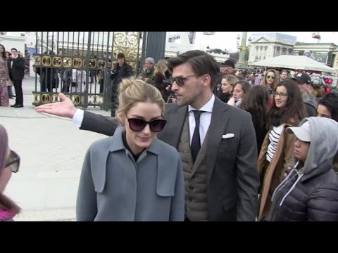 Olivia Palermo and more at the Valentino Fashion Show in Paris