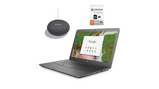 "Hp 14"" Intel Chromebook Plus Google Home Mini And Tech S"