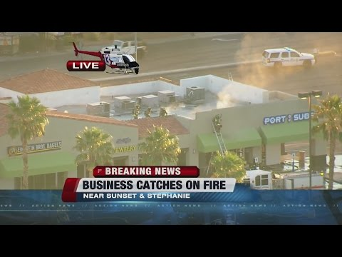 Henderson businesses catch fire