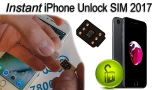 NEW Instant iPhone Unlock SIM for ALL iPhones Latest iOS 2017