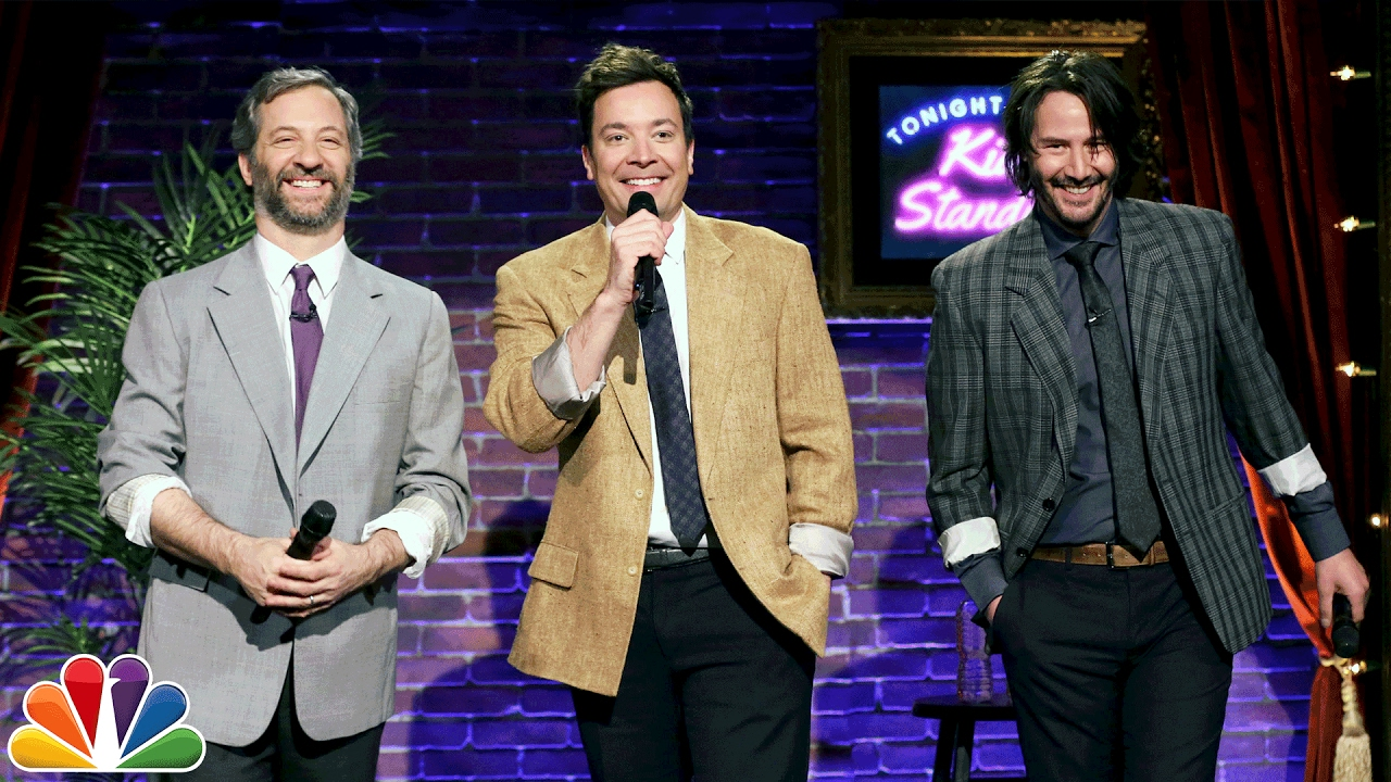 Kid Stand Up With Keanu Reeves And Judd Apatow