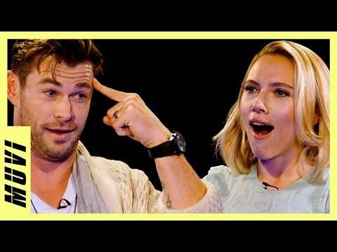 Chris Hemsworth insulta a Scarlett Johansson