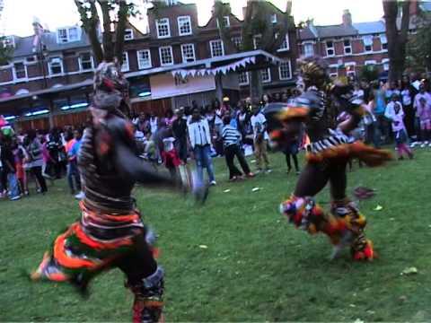 Yaram Annual London Cultural Week Park Highlights 2012 Zimba Kankurang Huntin