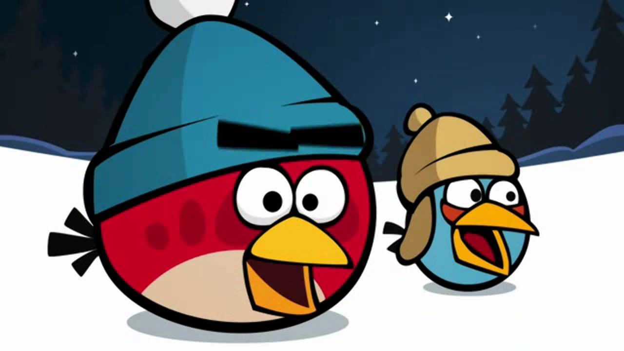 Rsic ink man amp angry birds christmas greetings 2012 youtube