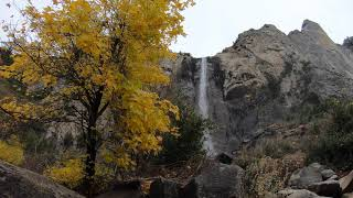 Yosemite Nature Clips Only Hiking with German Shepherd Hiking with Dog in the wilderness