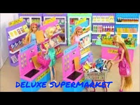 Đồ chơi trẻ em siêu thị  Deluxe Supermarket Dessert Shop