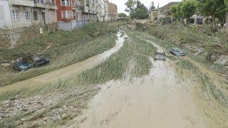 Graves inundaciones en Navarra
