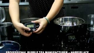 1  TEA WATER / prepare tea water for bubble tea