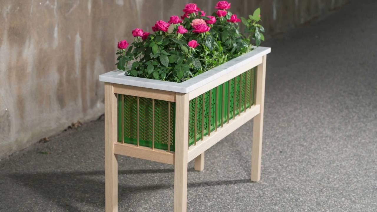 Indoor Planter Box - YouTube