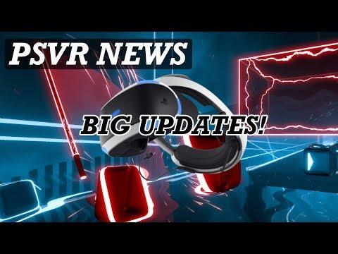 PSVR NEWS | Free Big Updates For PSVR Games | Beat Saber DLC Latest thumbnail