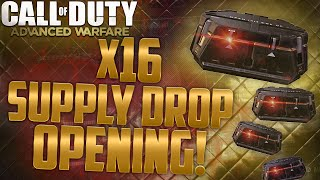 aw 16x supply drop opening   is this a fashion drop or what cod aw supply drops