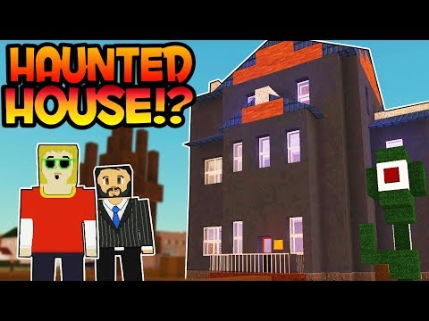 HAUNTED HOUSE?! - Voxel Turf Multiplayer Gameplay - TURF ZERO SKYBASE! Bed Rooms! - User Creations