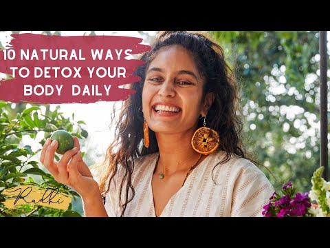 10 Ways to Naturally Detox Your Body Daily