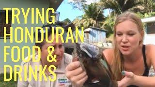 Honduras food & alcohol!   English girl in Honduras