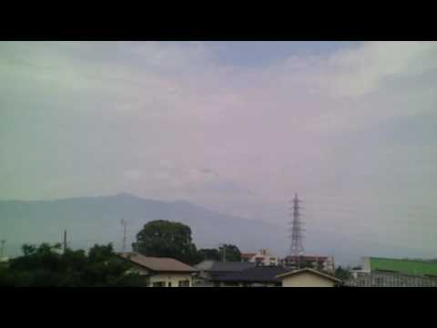 June 19, 2016 Today's Mount Fuji 100-speed playback : World Heritage Sites in Japan