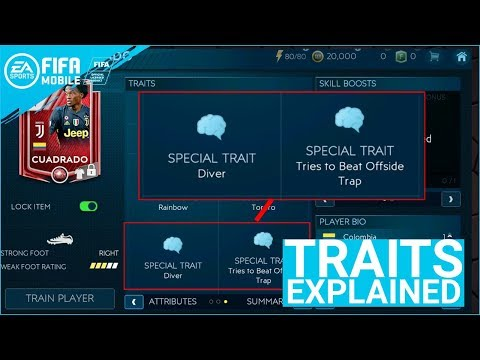 FIFA MOBILE 19 SEASON 3 PLAYER TRAITS EXPLAINED