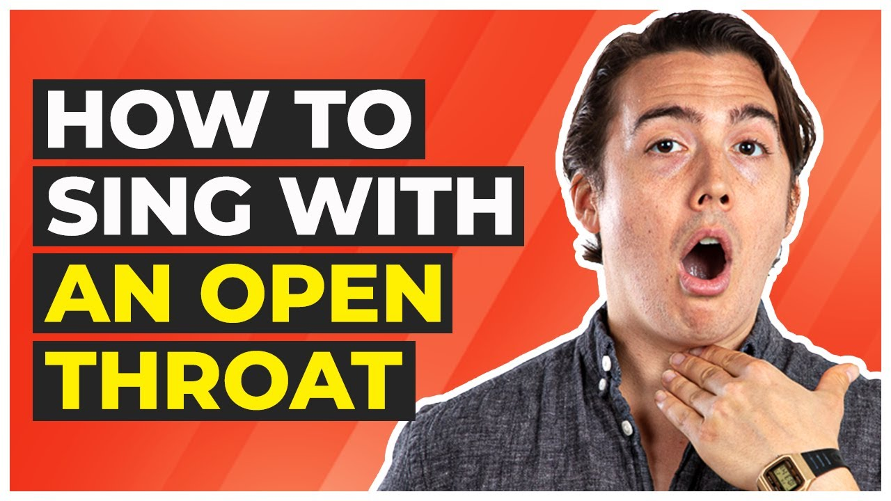 How to Keep An Open Throat When You Sing
