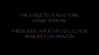 The Streets of New York - Written In April