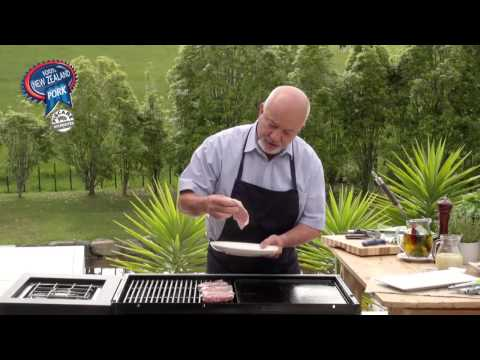 100% NZ Pork Steak with Mustard and Honey Cream Sauce