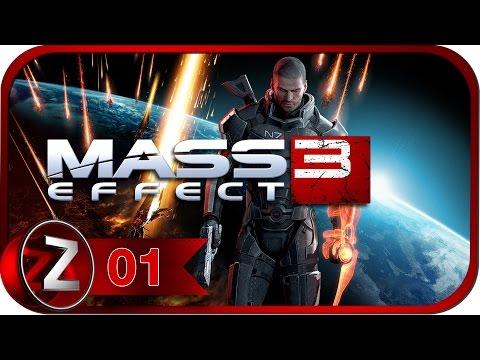 Mass Effect 3 Прохождение на русском #1 - Земля в опасности [FullHD|PC]