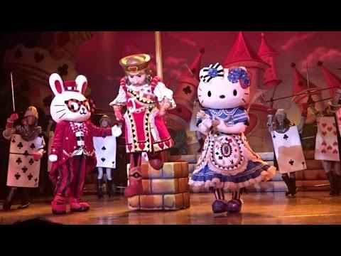Hello Kitty of the world 👸🗾Musical 🎀 Tokyo Japan【Sanrio】💖サンリオピューロランド🎀 不思議の国のハローキティ Part1