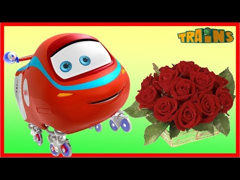 Thumbnail: My Red Train / TRAINS Cartoon / New Episode /What Women Want/ Trains Cartoon Collection for Children