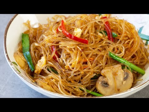 Stir Fry Glass Noodles Recipe