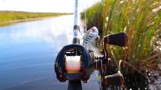 Fishing DEEP In The FL EverGlades!!!!