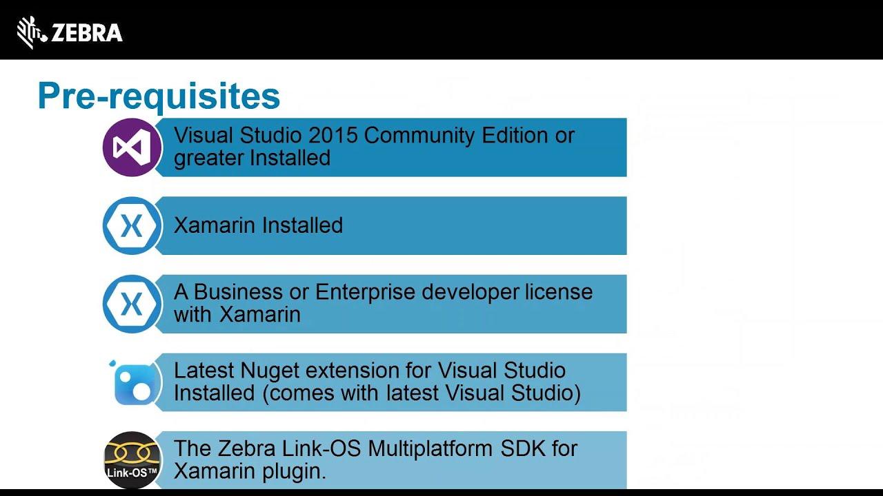 Developer Portal   XAMARIN