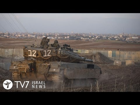 Israel beefs-up military presence along Gaza due to imminent escalation - TV7 Israel News 05.10.18