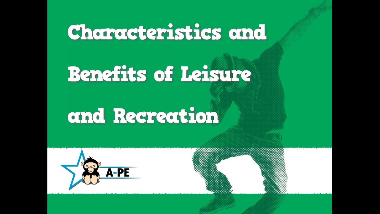 benefits of recreation in society and on The benefits of recreation are not only positive to the community of today, but to the society of tomorrow  with recreation strong within our society,.