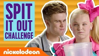 Spit It Out Challenge 2.0 😂 w/ JoJo Siwa, Owen Joyner & More! | Nick