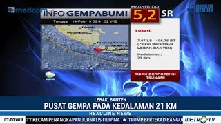 Download Video Gempa 5,2 SR Guncang Lebak MP3 3GP MP4