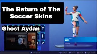 Fortnite Soccer Skins Return? | Will this be the next noob skin? | Fortnite Battle Royale