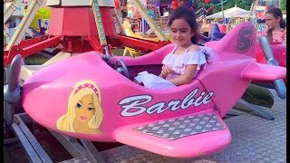 Emily Ride on Pink Plane