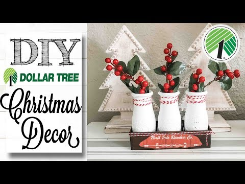 DIY Dollar Tree Christmas Decor | 8 of 12 Days of Christmas