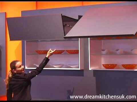 Blum Aventos  Liftup Wall Unit Doors  YouTube