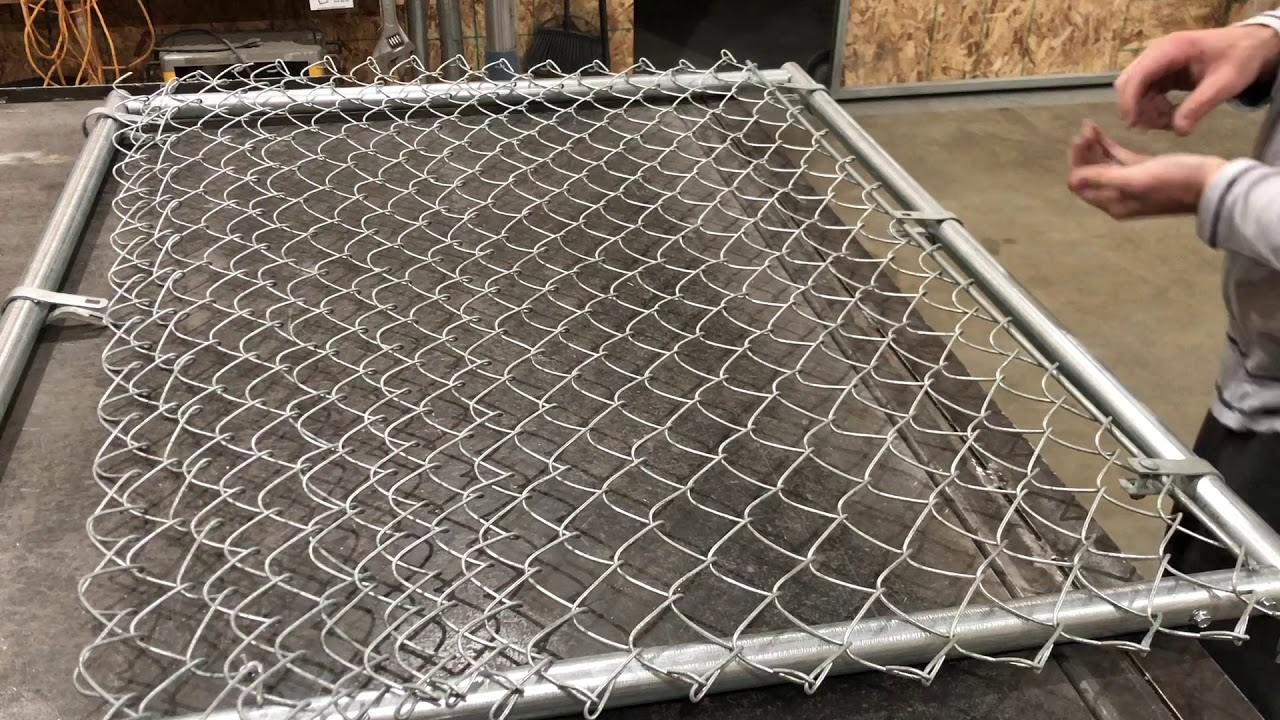 How To Build A Chain Link Gate Residential 4x3 You