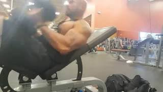 Day 8 Transformation (Chest monday with Doug, Builder lifestyle)