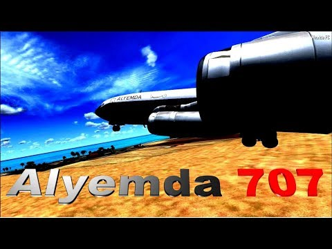 Desliz impensable - Vuelo del 707 de Alyemda (Reconsrucción)