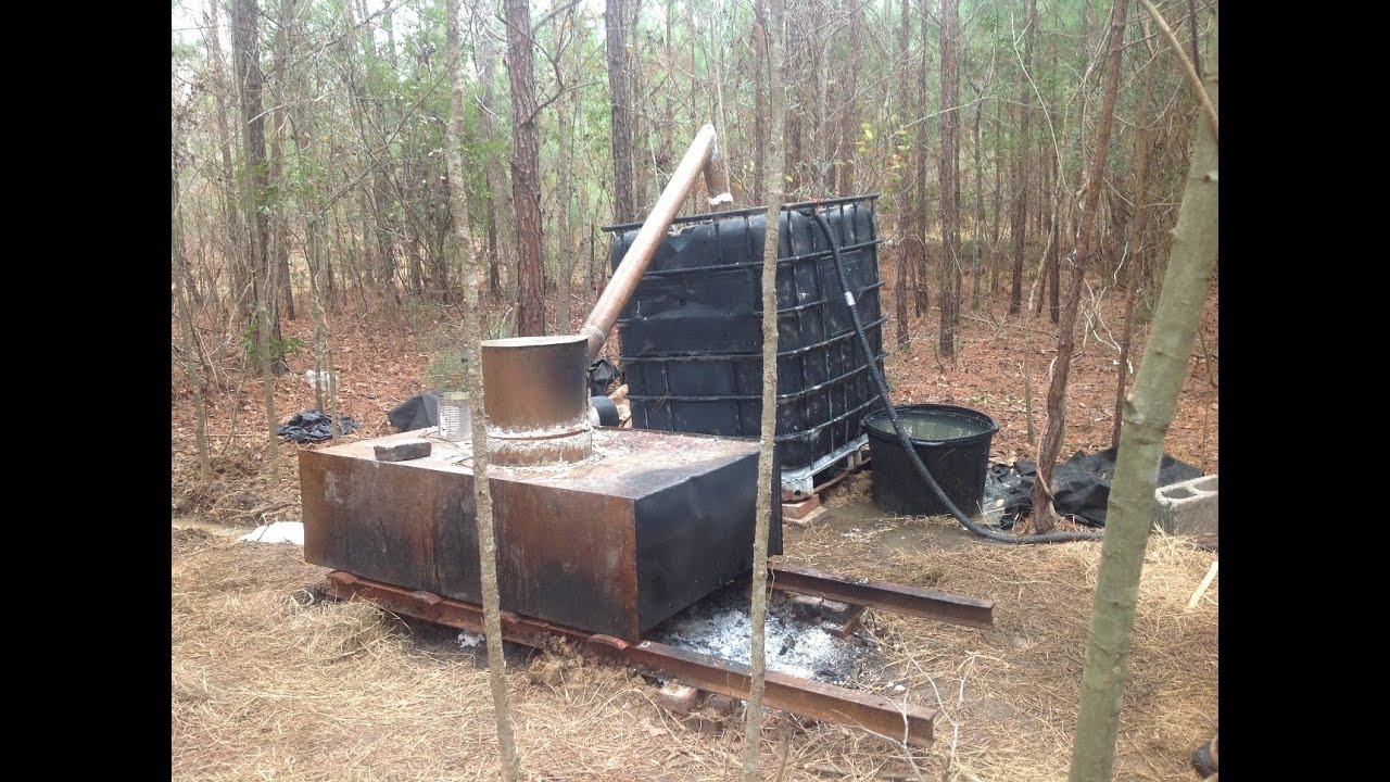 Moonshine Still destroyed in Bullock County, AL on January ...
