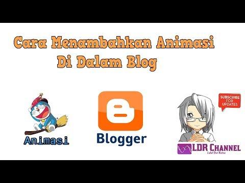 Cara Membuat Tulisan Berjalan di Blog Lengkap.