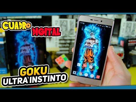 Como Tener Un Fondo Digital Animado De Goku Ultra Instinto (Migatte No Gokui) En tu PC O Smartphone