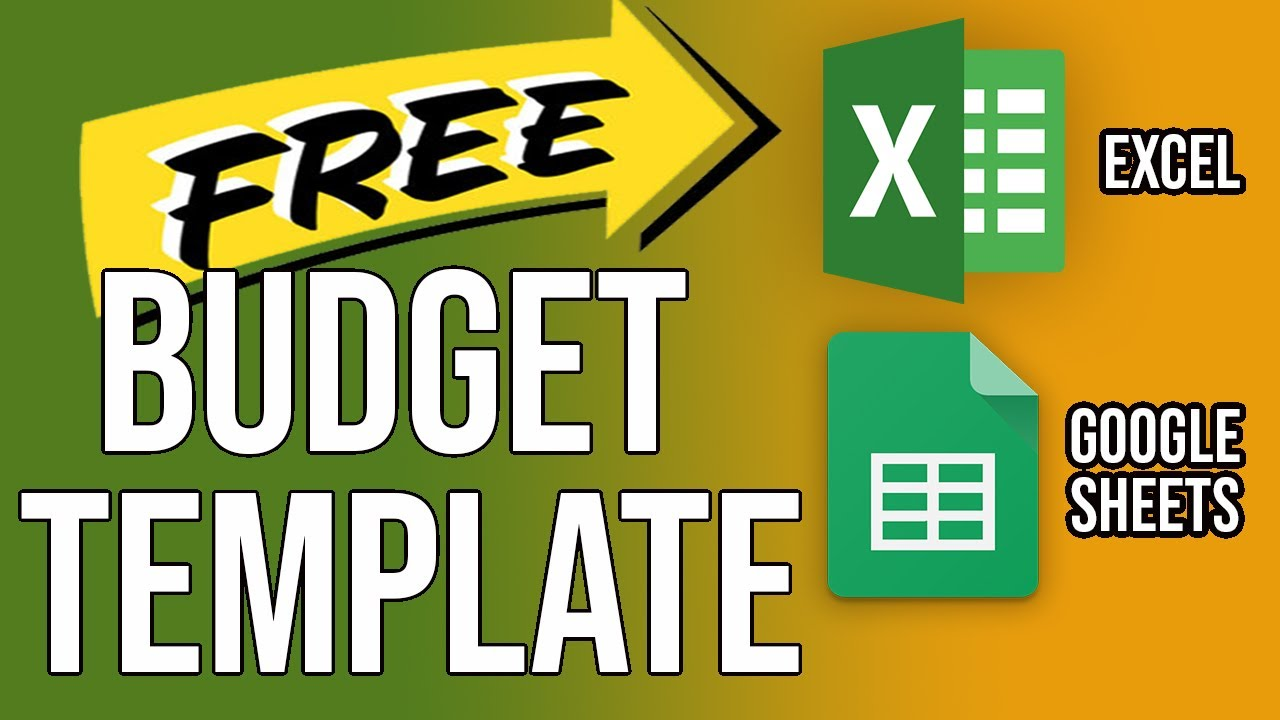 household budget template tutorial free budget template download