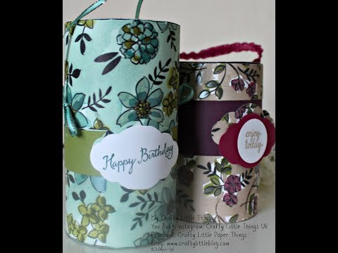 Cylinder Gift Box Tutorial